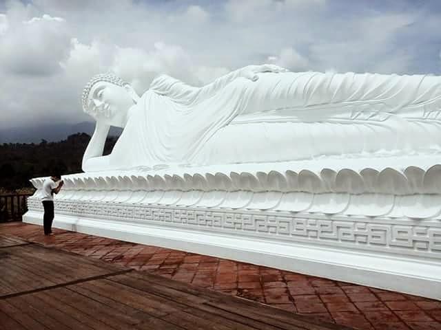 Wisata Bali Patung Budha Tidur Buddha Kab Bogor