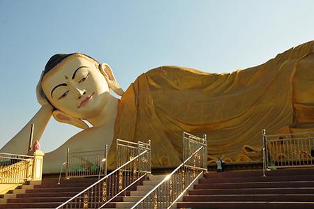 Wisata Patung Budha Tidur Mojokerto Indonesia Ternyata Mirip Buddha Kab