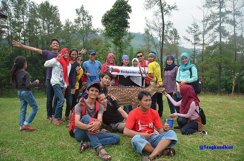Curug Country Penangkaran Rusa Backpacker Jakarta Bogo 4 Giri Jaya