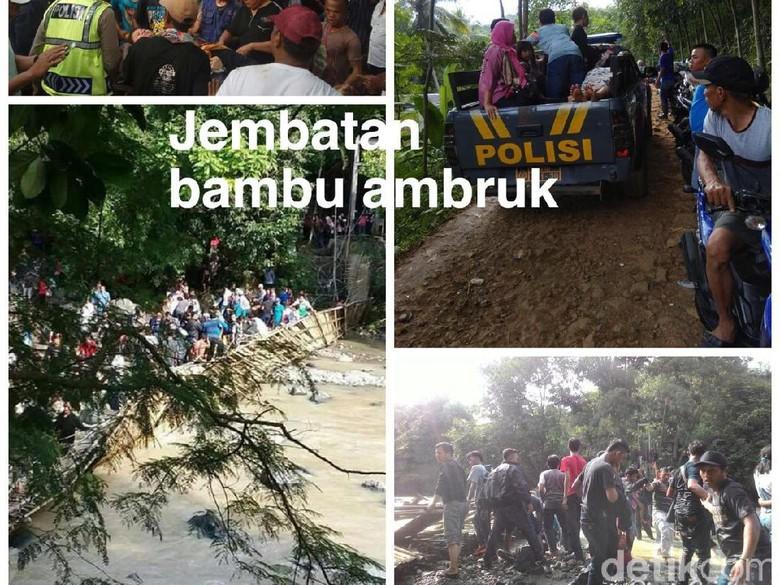 Penangkaran Rusa Cariu Bogor Putus 30 Luka Jembatan Giri Jaya