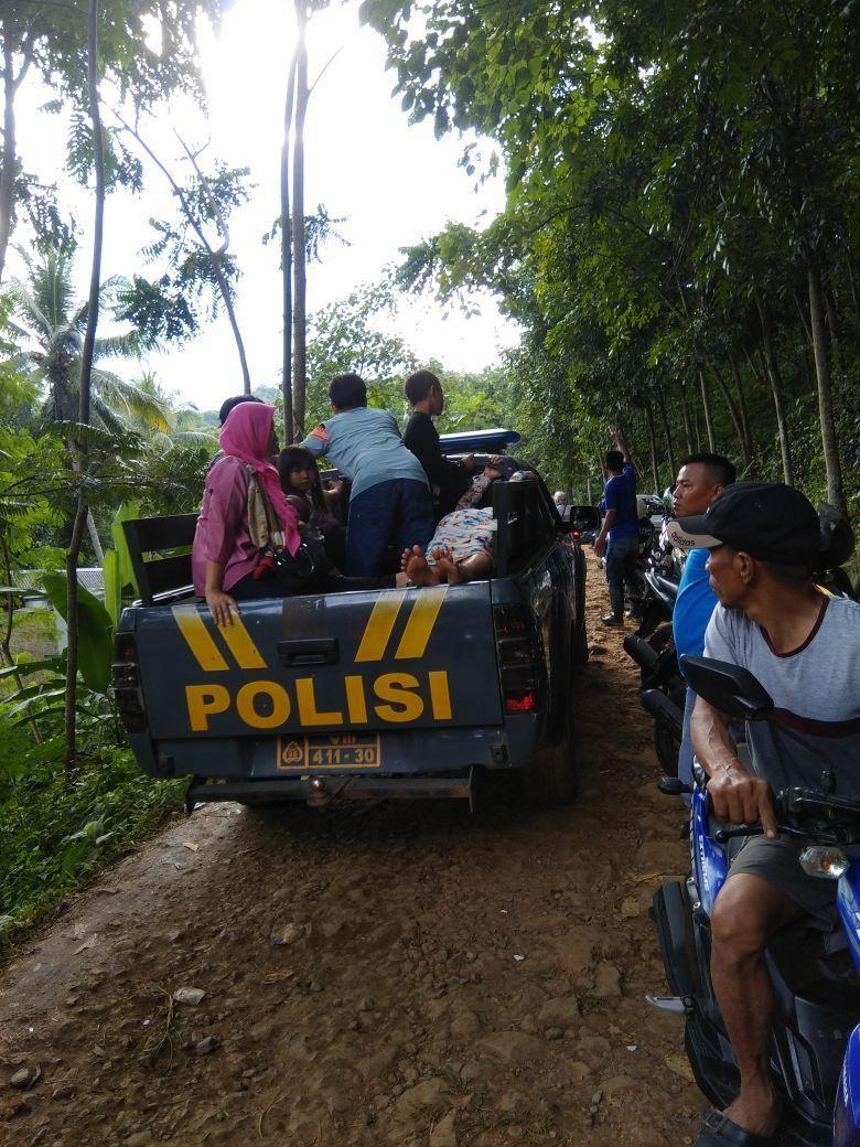 Penangkaran Rusa Cariu Putus Polisi Tak Korban Tewas Jembatan Giri