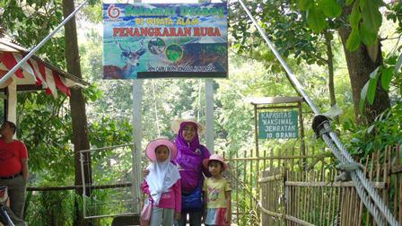 Sensasi Wisata Penangkaran Rusa Cariu Lalerijo Giri Jaya Bogor Kab