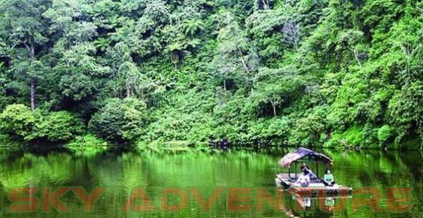 Berlibur Berakhir Pekan Telaga Warna Bogor Jawa Barat Petualangan Hutan