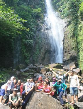 Tempat Wisata Bogor Kab Alam Outbound Curug Cikaracak Petualangan Hutan
