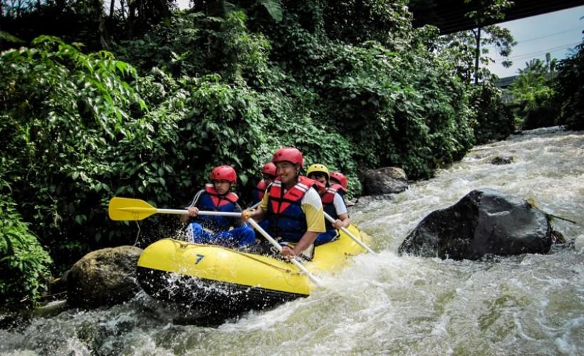 Arung Jeram Bogor Katulampa Cisadane Ciliwung Previous Rafting Sungai Kab