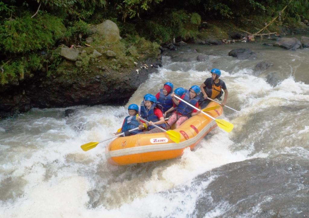 Arung Jeram Perusahaan Sungai Cisadane Bogor Rafting Kab