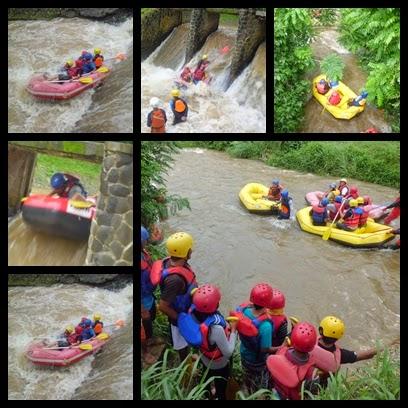 Paket Arung Jeram Rafting Bogor Cisadane Sungai Kab