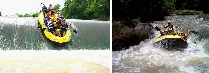 Rafting Paintball Sungai Cisadane Berada Kabupaten Bogor Lebih Tepatnya Terletak