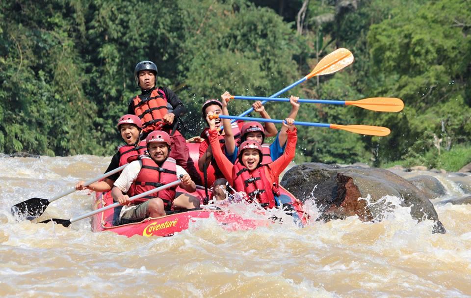 Rafting Sungai Cianten Bogor Paket Cisadane Kab