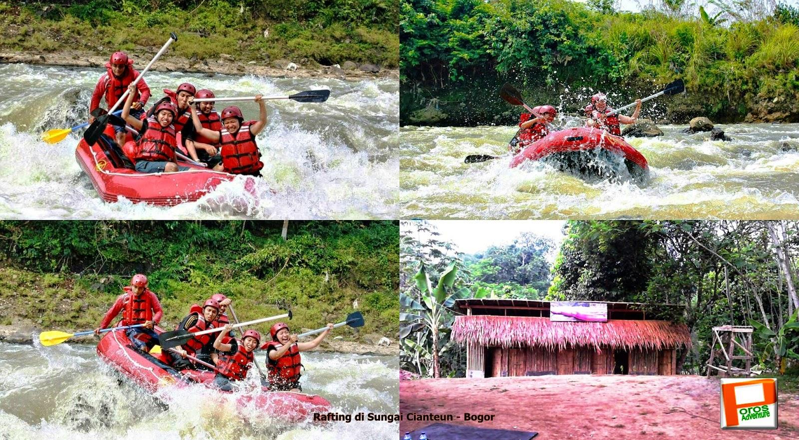 Wisata Arung Jeram Sungai Cianteun Bogor 0856 9140 9060 Jasa