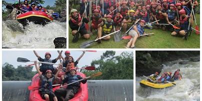 Wisata Bogor Rafting Arung Jeram Sungai Cisadane Murah Kab