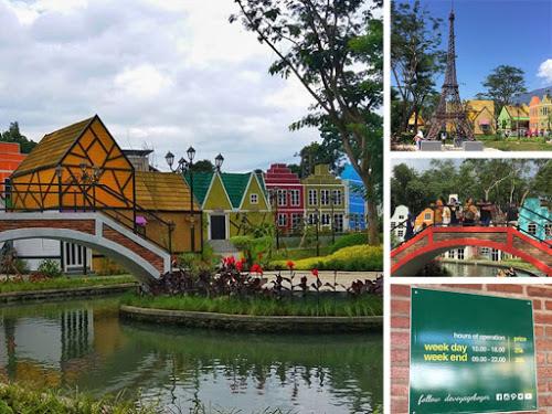 Devoyage Wisata Selfie Bertema Miniatur Kampung Eropa Bogor Instagramable Kian