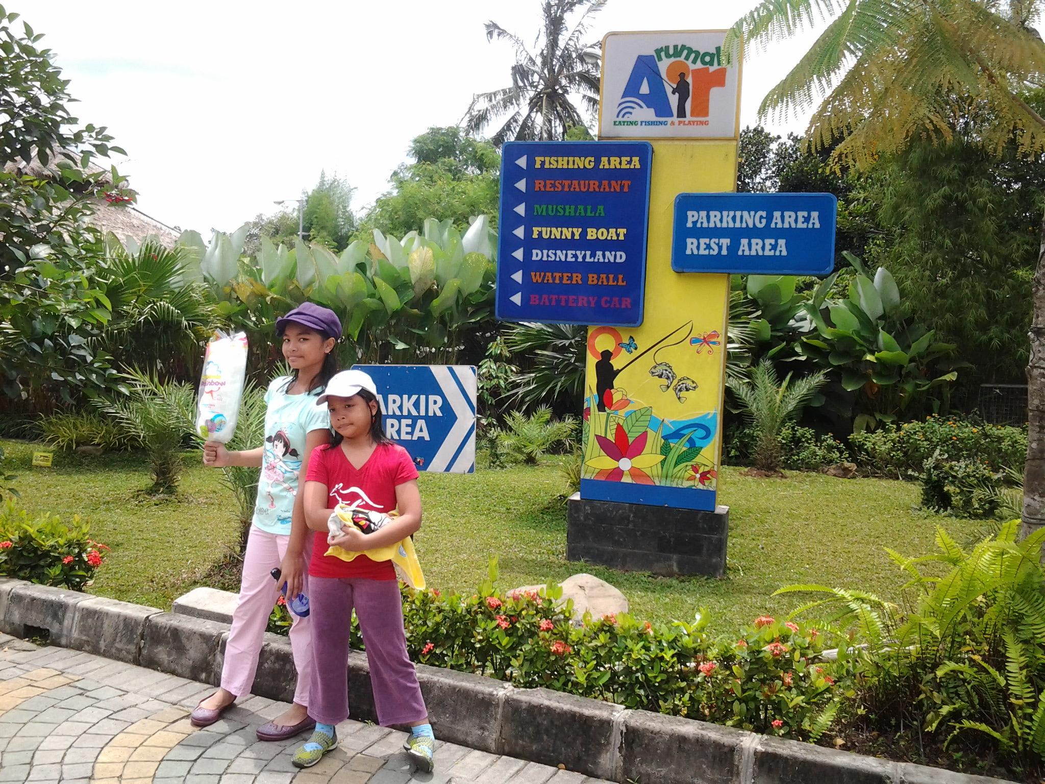 Makan Asyik Outbond Seru Rumah Air Bogor Nirwana Residence Kab