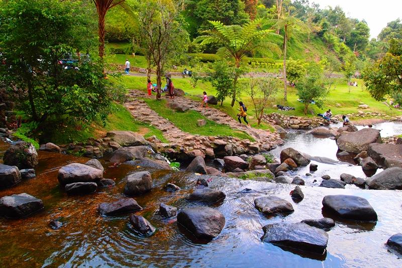 Cerita Jalan Kebun Raya Cibodas Bogor Ahmad Saiful Pukul Taman