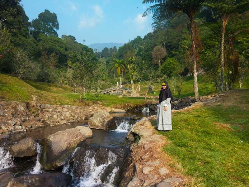 Jalan Kebun Raya Cibodas Cipanas Puncak Berbagi Tak Rugi Taman