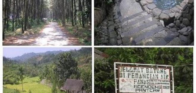 Gunung Pancar Mandi Air Panas Menyegarkan Pariwisata Indonesia Wisata Kab
