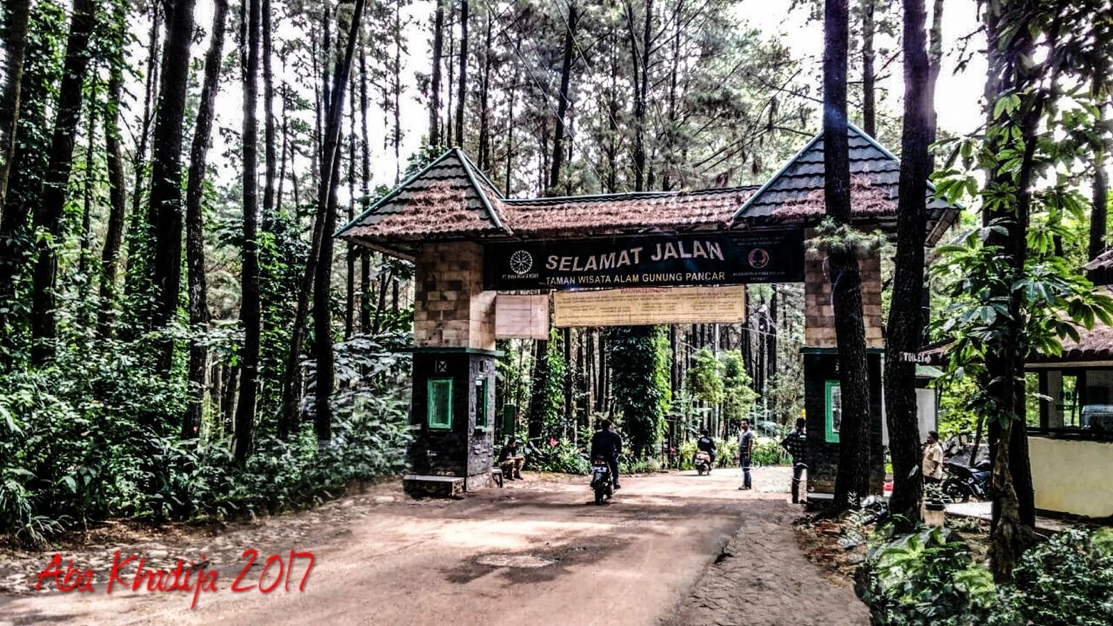 Pilih Gunung Pancar Giritirta Perjalanan Aba Khadija Pintu Masuk Gn