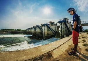 Bendungan Gerak Bojonegoro Wisata Kemarau Tiba Pegontrol Debit Air Bengawan