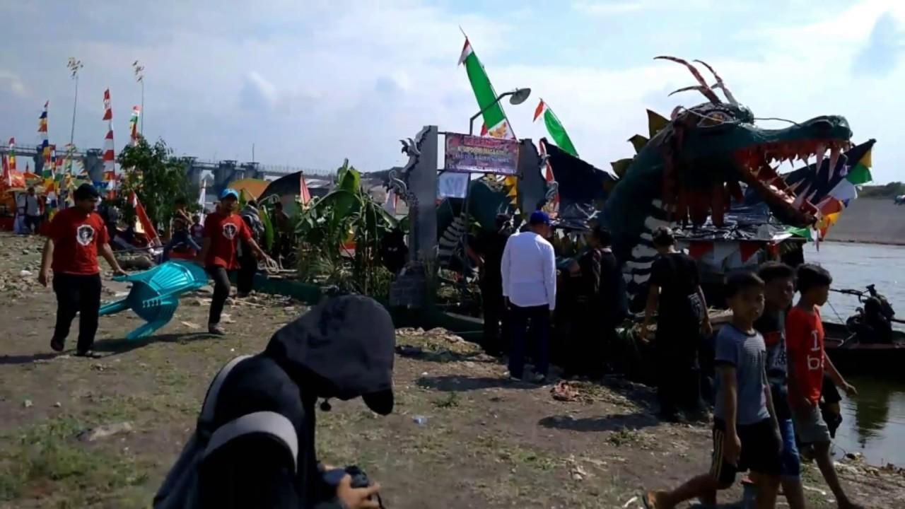 Festifal Perahu Hias Bendungan Gerak Bojonegoro 2017 Youtube Kab