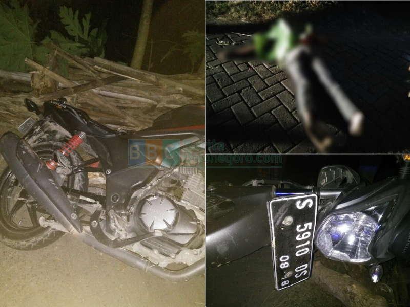 Kecelakaan Pengendara Sepeda Motor Tewas Bendung Gerak Berita Bendungan Bojonegoro