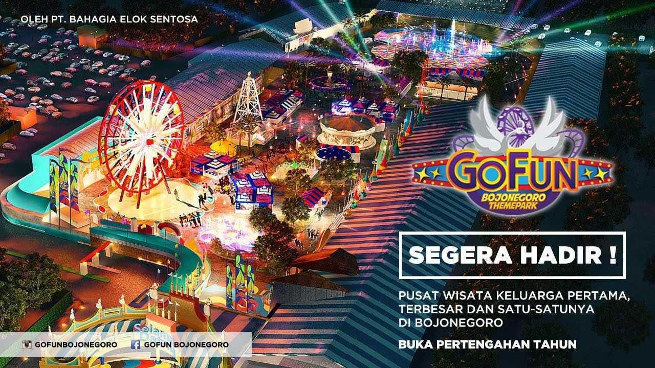 Fun Bojonegoro Theme Park Kang Andi Komple Taman Hiburan Gofun