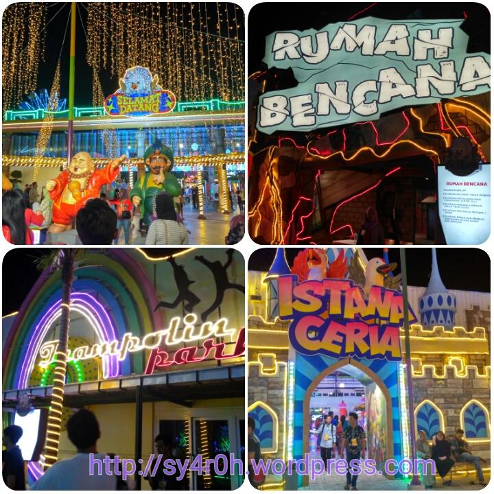 Gemerlap Cahaya Malam Gofun Bojonegoro Blog Munasyaroh Fadhilah Wahana Komple