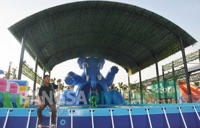 Gofun Bojonegoro Hadirkan Waterpark Modern Terbesar Jatim Komple Taman Hiburan