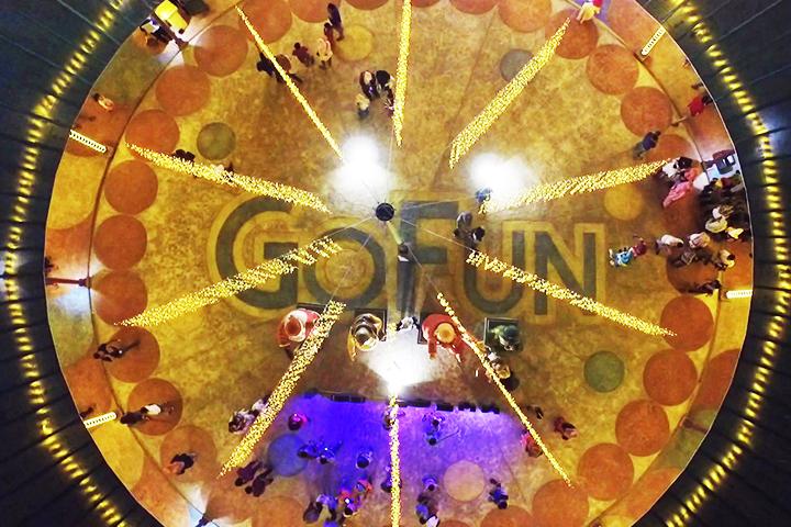 Gofun Entertainment Complex Fun Bojonegoro Membuka Plaza Pengusaha Makanan Komple