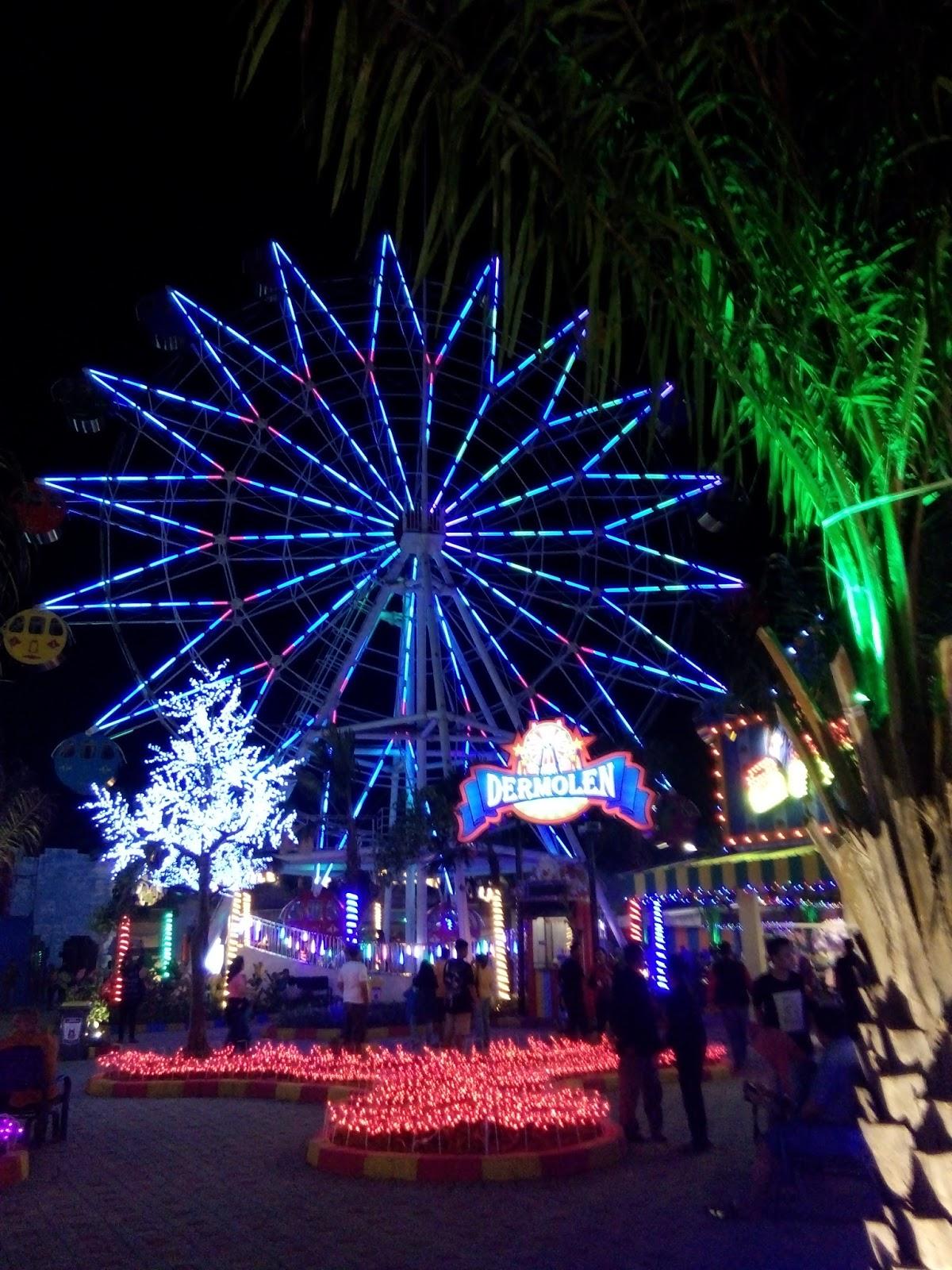 Jalan Gofun Bojonegoro Theme Park Destinasi Wisata Wahana Dermolen Komple