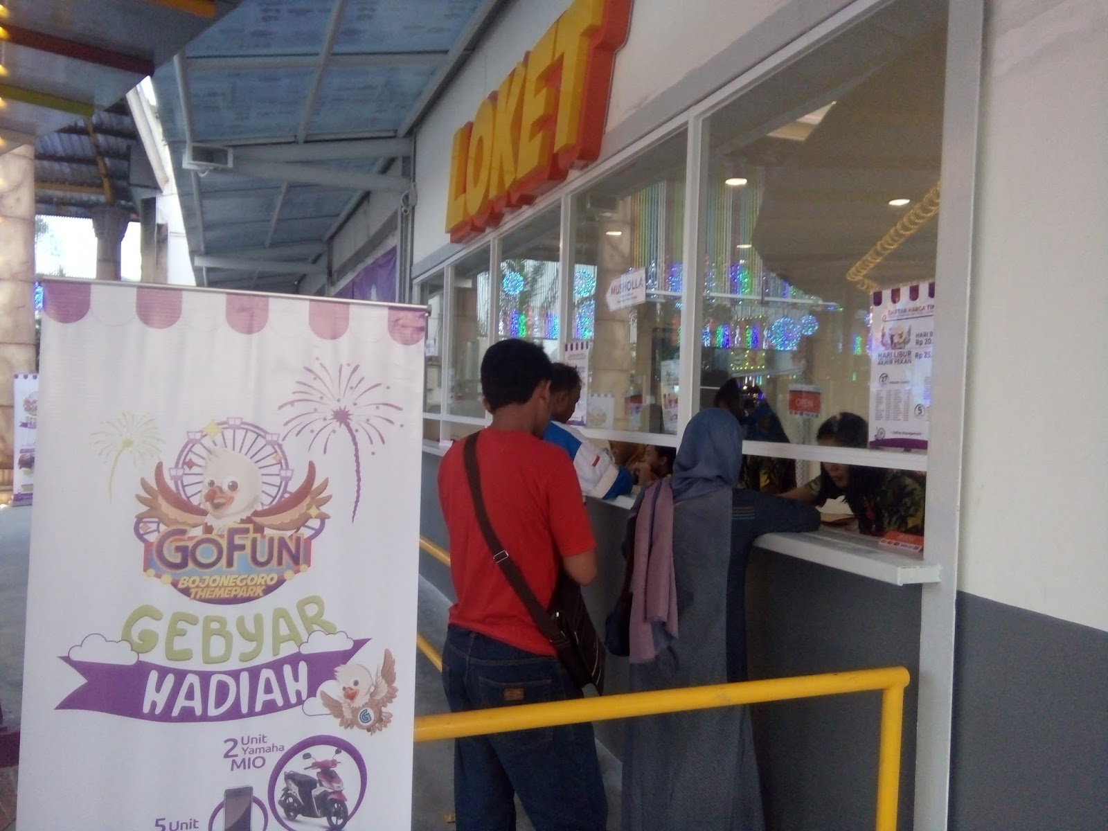 Jalan Gofun Bojonegoro Theme Park Destinasi Wisata Wahana Oya Tiket