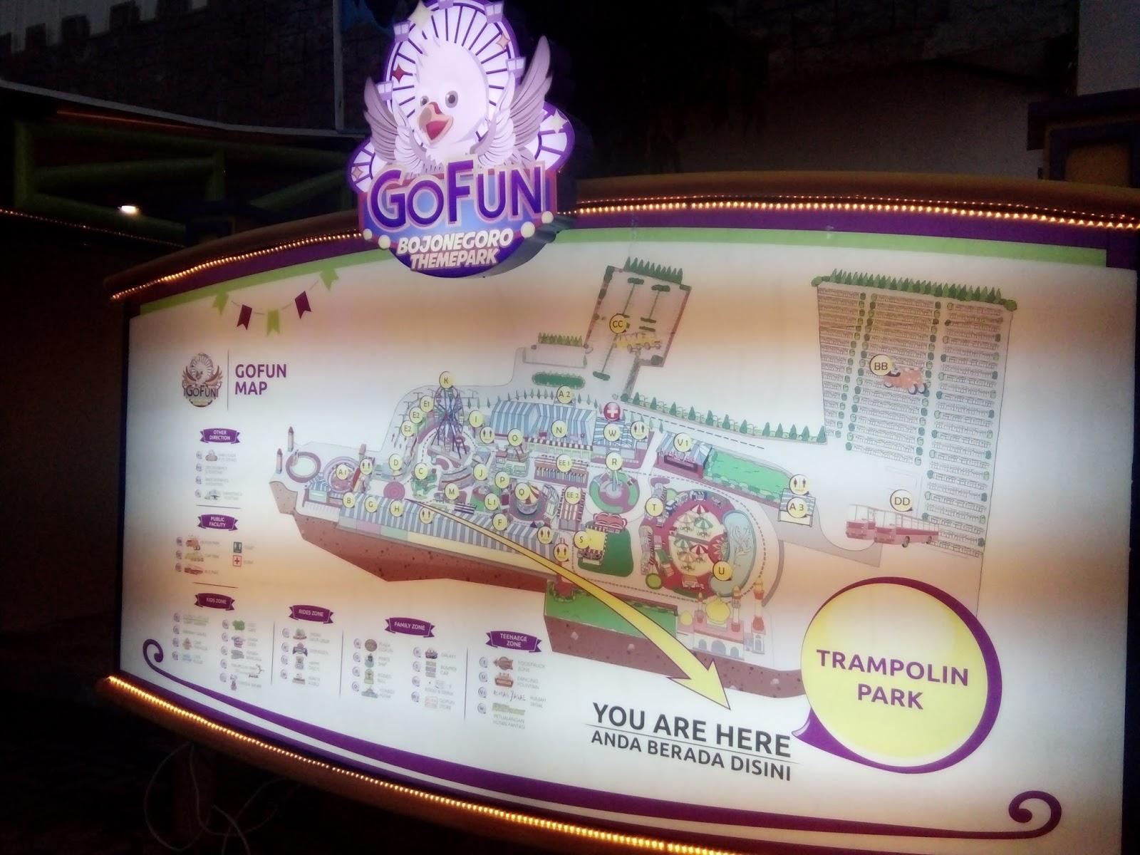 Jalan Gofun Bojonegoro Theme Park Destinasi Wisata Wahana Sitemap Fun