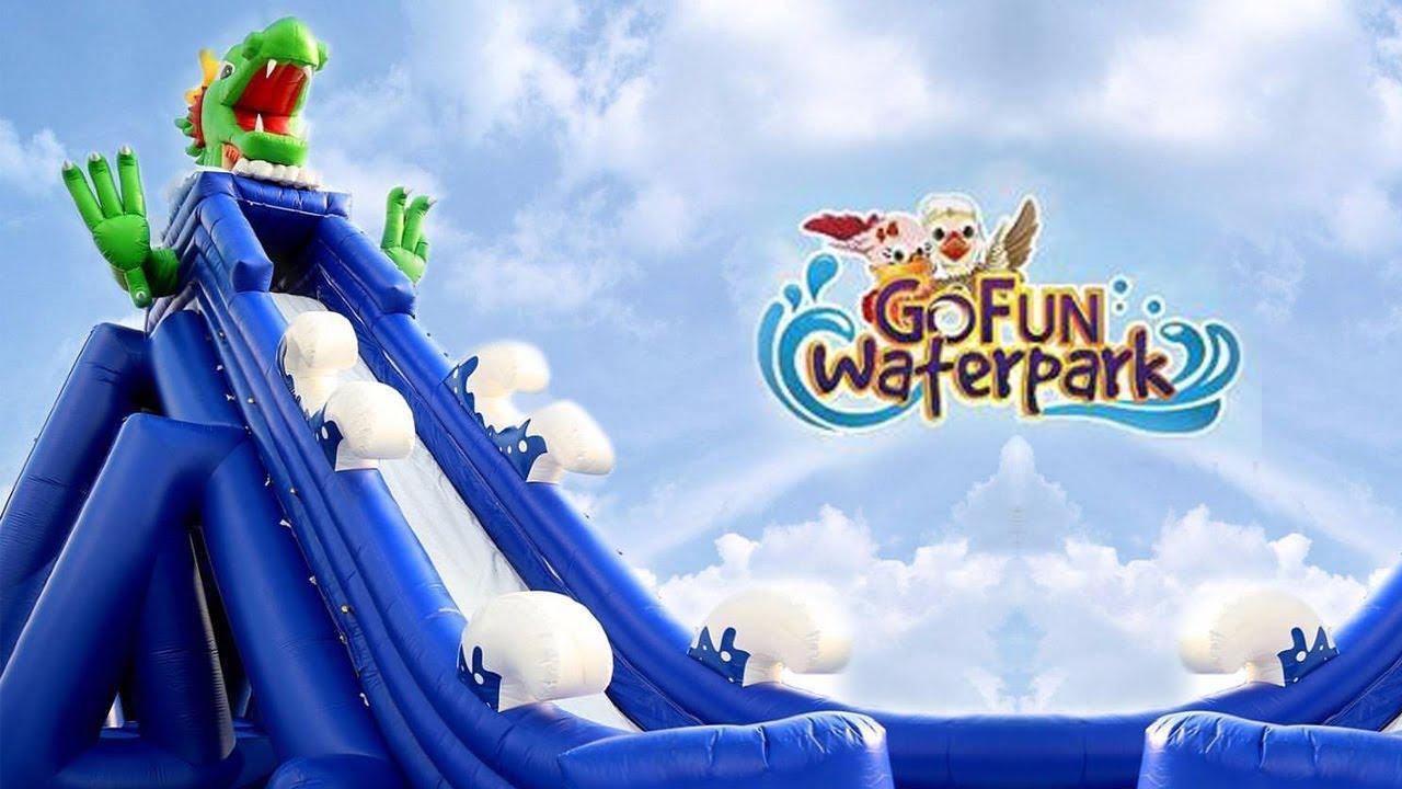 Wisata Gofun Waterpark Bojonegoro Youtube Komple Taman Hiburan Kab