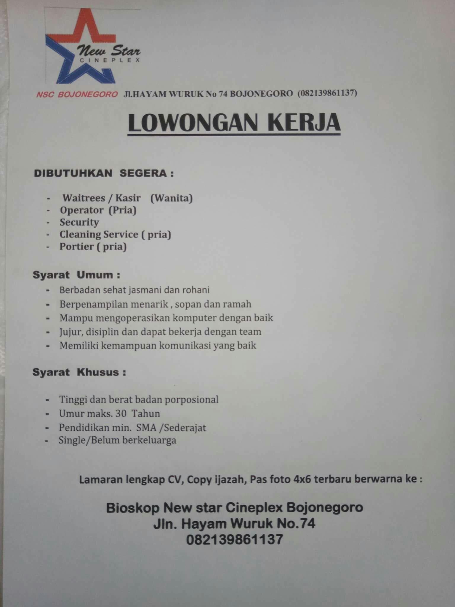 Bojonegoro Projects Development Page 21 Skyscrapercity Yah Lowoongan Kerjanya Hehehe