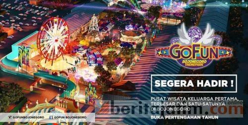 Fun Bojonegoro Theme Park Dibuka 20 Agustus 2016 Beritajatim Taman