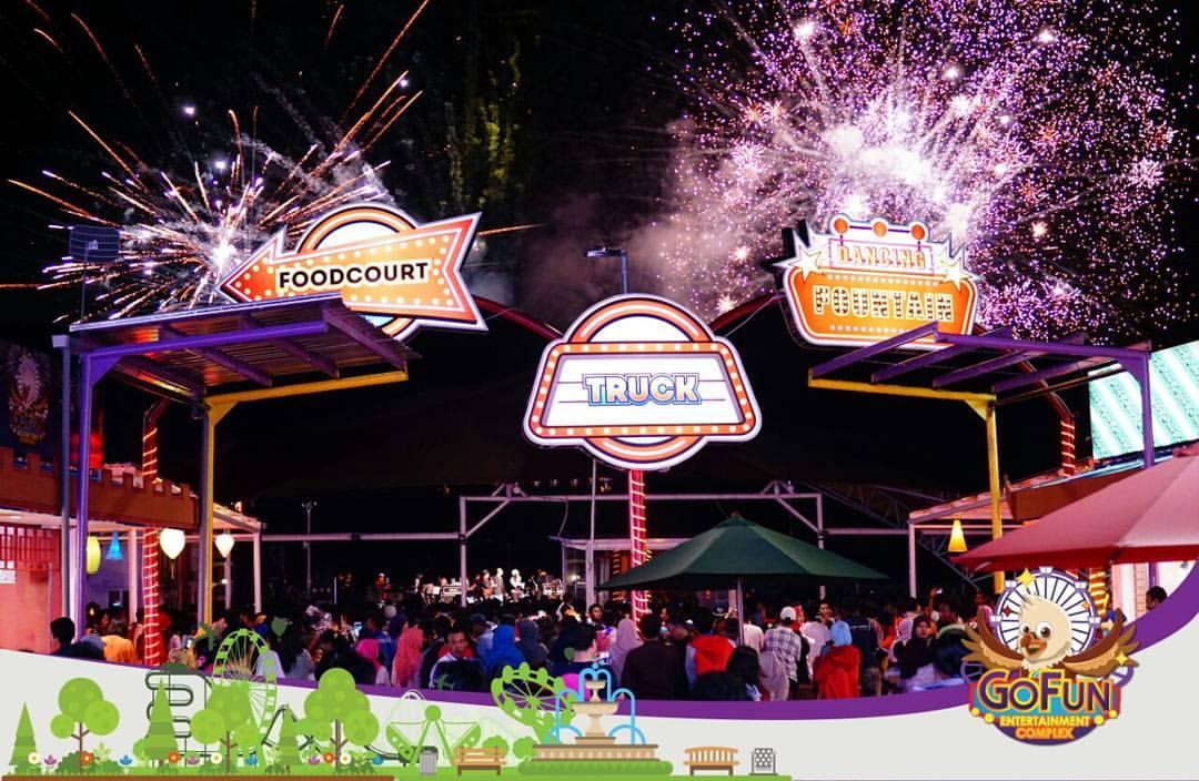 Gofun Entertainment Complex Berita Acara Kembang Api Bojonegoro Taman Air