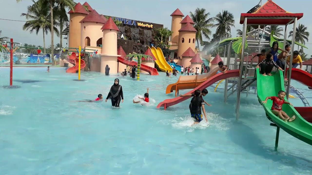 Obyek Wisata Gofun Waterpark Bojonegoro Jadi Usai Bermain Air Kolam