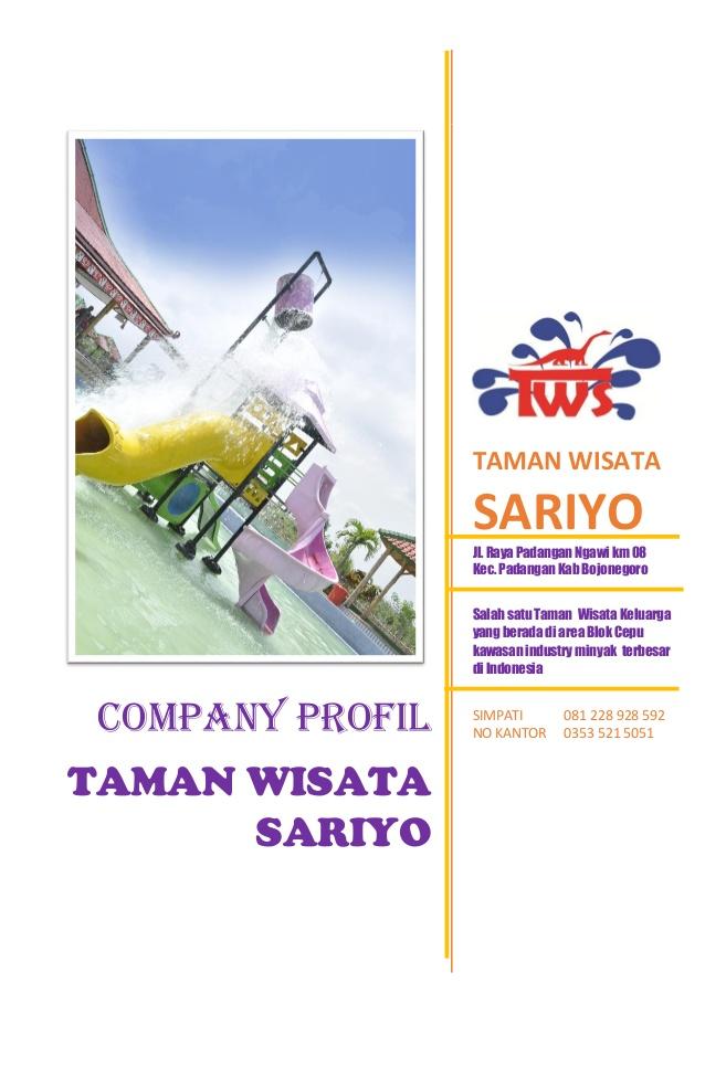Company Profil Sariyo 2017 Aspek Legalitas Taman Wisata Jl Raya