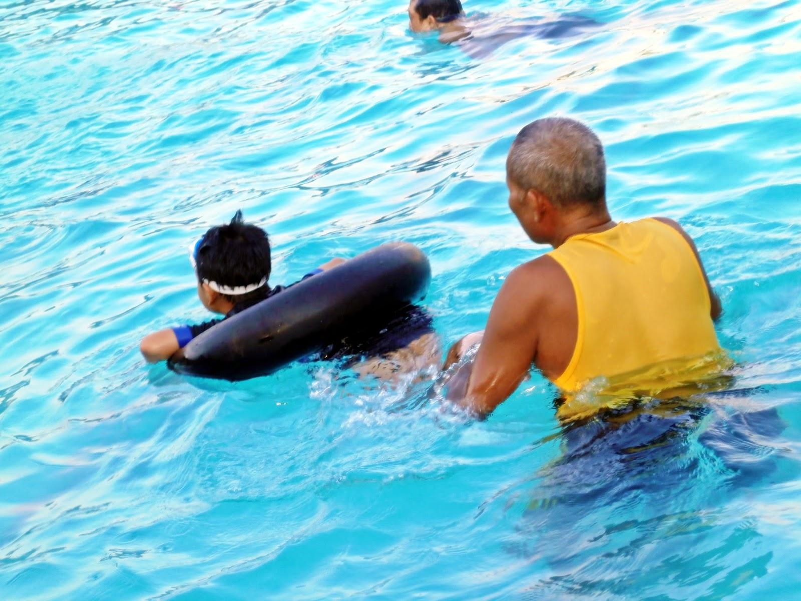 Fasilitas Taman Wisata Sariyo Prosesi Pelatihan Les Renang Kab Bojonegoro
