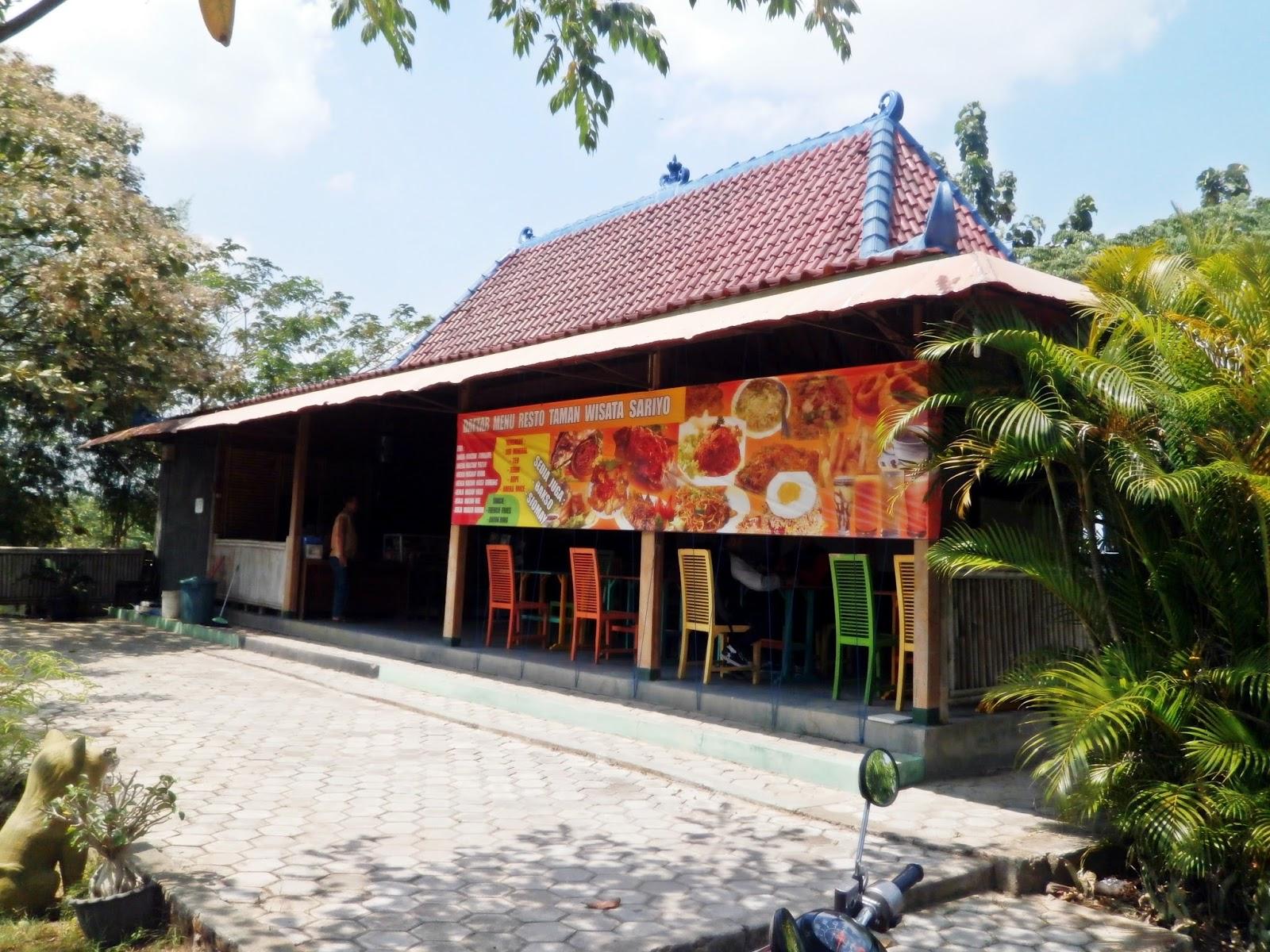 Fasilitas Taman Wisata Sariyo Rumah Makan Kab Bojonegoro