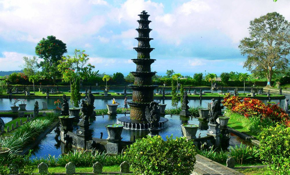 Kumpulan Tempat Wisata Bojonegoro Jawa Timur Gambar Taman Sariyo Kab