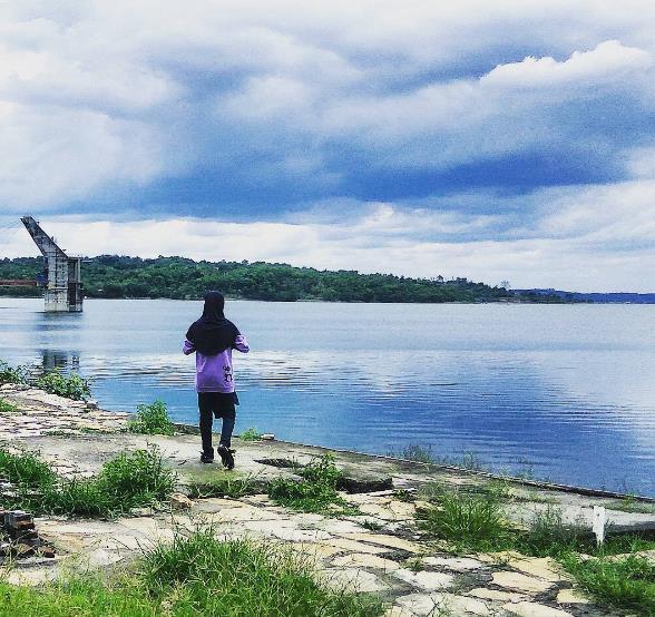 Instagramable 23 Tempat Wisata Grobogan Jawa Tengah Waduk Kedung Ombo
