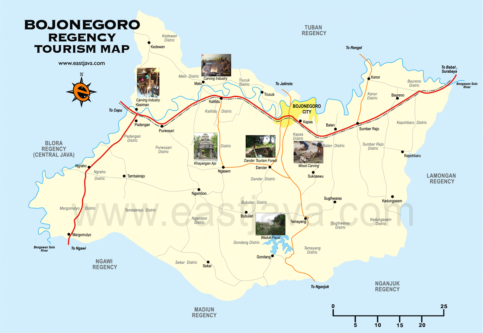 Objek Wisata Kecamatan Kapas Kabupaten Bojonegoro Jim Wacana Pengembangan Potensi