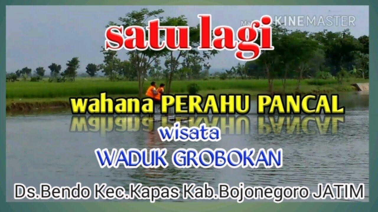 Satu Peluncuran Wahana Perahu Pancal Wisata Waduk Grobokan Grobogan Kab