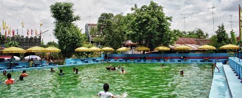 Taman Tirta Interesting Family Recreation Bojonegoro Wisata Wana Dander Kab
