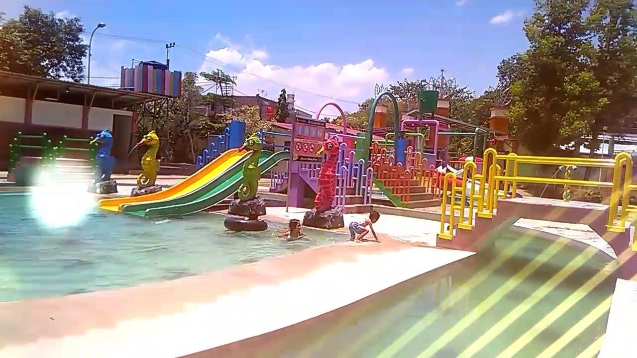 Water Park Tirta Wana Dander Bojonegoro Youtube Wisata Kab