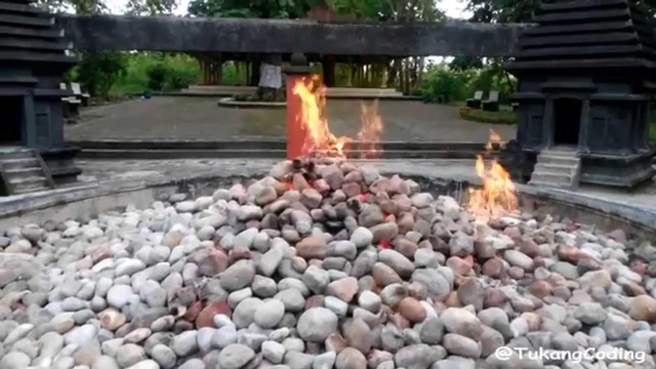 Wisata Alam Bojonegoro Api Kayangan Kecamatan Ngasem Youtube Wana Dander