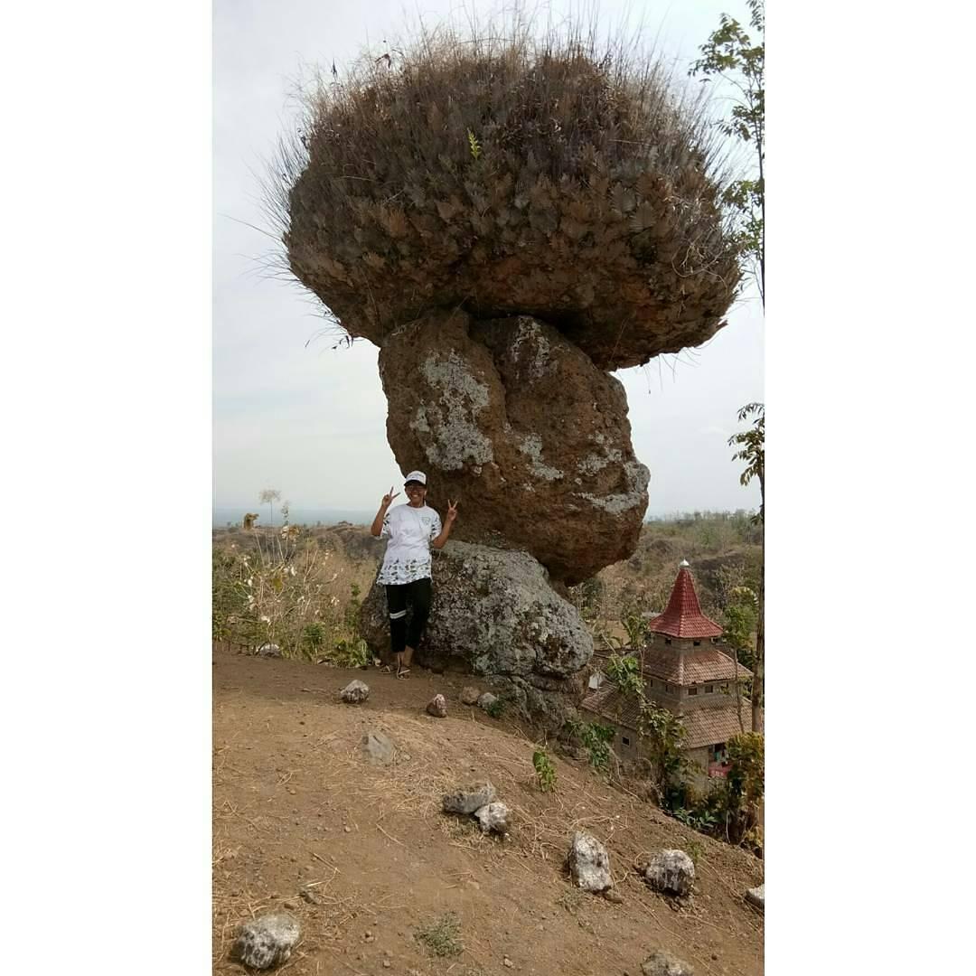 Batu Solor Stonehange Indonesia Relawan Muda Bondowoso Jabrik Foto Instagram