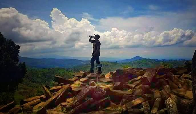 Megalitikum Hash Tags Deskgram Situs Batu Gunung Padang Cianjur Prasejarah