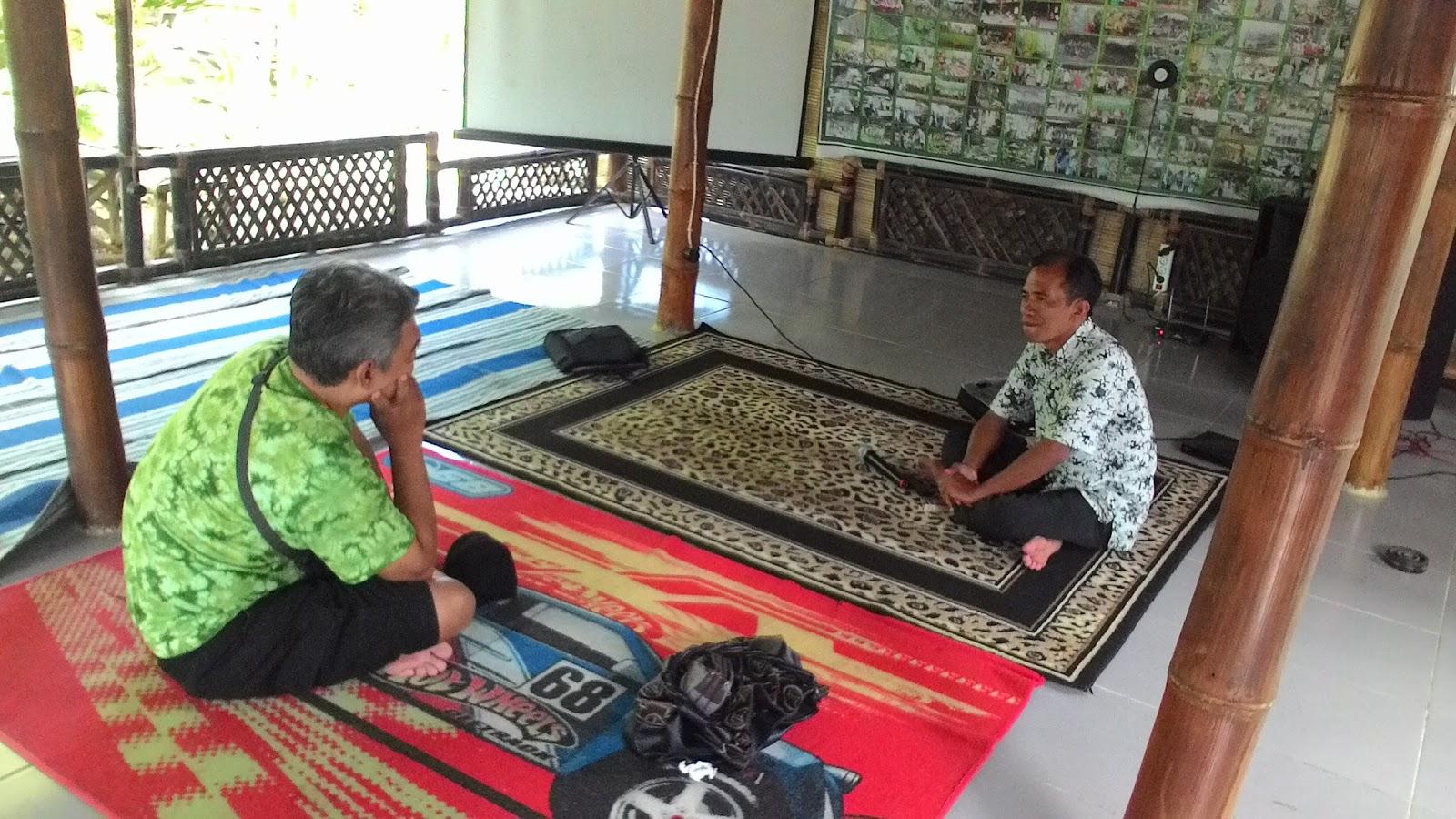 Blognya Uce Indahyanti Wisata Organik Bondowoso Rumah Pak Baidowi Sekaligus