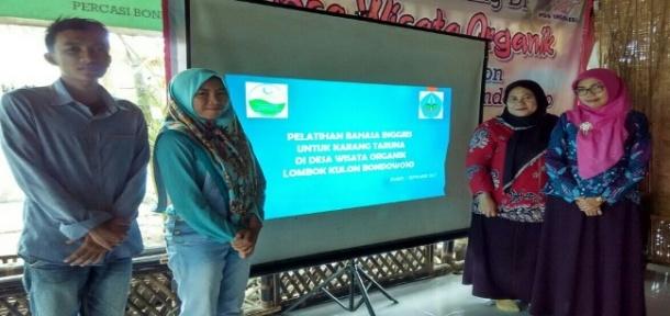 Dosen Polije Tingkatkan Kualitas Sdm Warga Desa Wisata Organik Jember
